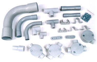 connection between conduit fittings and surplus electrical products rh electricalproducts typepad com Exterior Electrical Wiring conduit house wiring materials